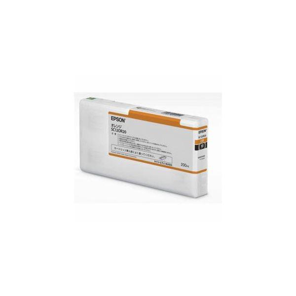 EPSON インクカートリッジ オレンジ 200ml SC12OR20