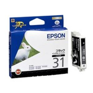 (業務用40セット) エプソン EPSON インクカートリッジ ICBK31 黒 ×40セット