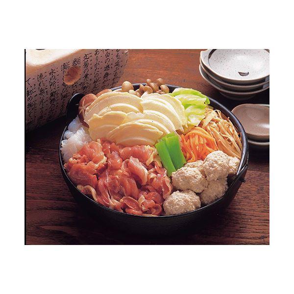 青森シャモロックせんべい汁セット 3セット【代引不可】