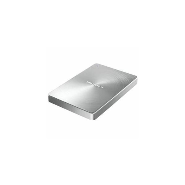 IOデータ USB 3.1 Gen1 Type-C対応 ポータブルハードディスク「カクうす」2.0TB シルバー HDPX-UTC2S