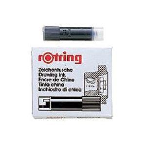 イソグラフカートリッジ 590217 (業務用100セット) 5本 黒 ロットリング ×100セット
