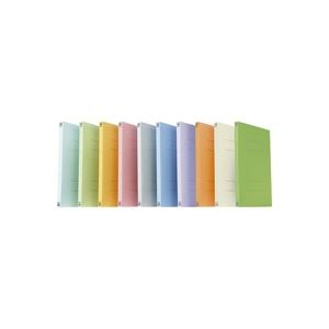 (業務用20セット) プラス フラットファイル 紙バインダー 2穴 021N A4S オレンジ30冊 ×20セット