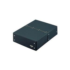 (業務用20セット) セキセイ 図面箱 T-280-60 A4 黒 ×20セット