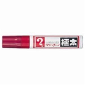 (業務用100セット) 寺西化学工業 マジックインキ MGD-T2 極太 赤 ×100セット