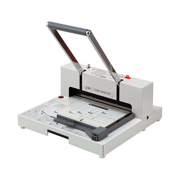 プラス かんたん替刃交換 断裁機裁断幅299mm(A4長辺) ホワイト PK-513LN 1台