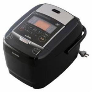 アイリスオーヤマ IHジャー炊飯器 3合炊き ブラック KRC-IC30-B