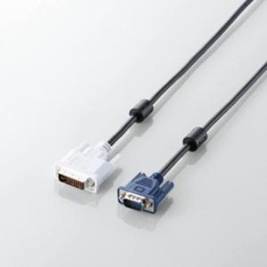 5個セット エレコム DVI-D-Sub15ピン変換ケーブル CAC-DVA15BKX5