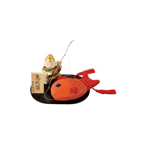 木目込み恵比寿 A1415【代引不可】