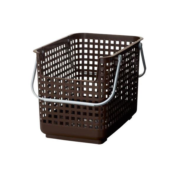 (まとめ) ランドリーバスケット/洗濯かご 【サポート ブラウン】 深型 SCB-6 『スカンジナビアスタイル』 【12個セット】
