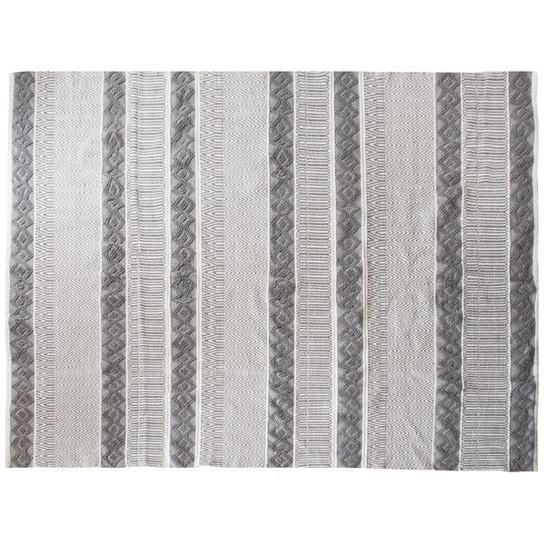【送料無料】インド綿ラグMASALA トライバル柄 綿100% インド製 RG-TR1924A 190×240cm【代引不可】