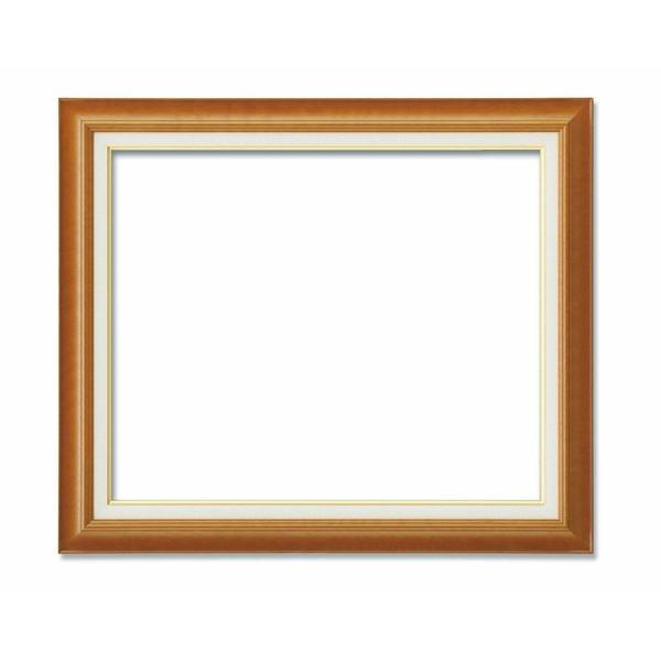 【油額】油絵額・キャンバス額・木製油絵額・茶色油絵額 ■M20号(727×500mm)チーク