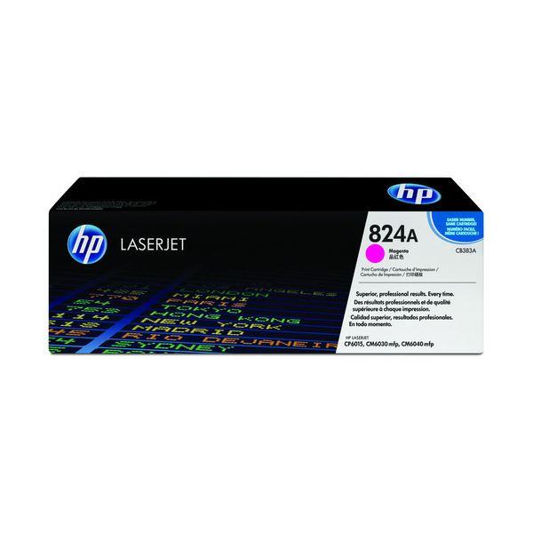 HP プリントカートリッジ マゼンタCB383A 1個