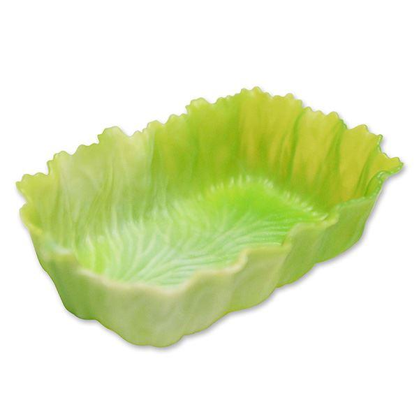 (まとめ) ベジカップ/お弁当カップ 【角L G-レタス 3個入】 抗菌効果 おかずカップ お弁当グッズ 【×64個セット】