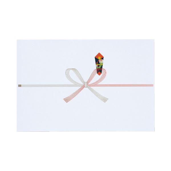 (まとめ)マルアイ のし紙蝶結び 祝切手100枚 厚口N ノイ-N101(×50セット)