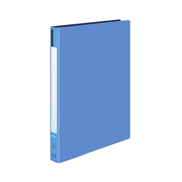 コクヨ リングファイル 色厚板紙表紙A4タテ 2穴 170枚収容 背幅30mm 青 フ-420B 1セット(40冊)