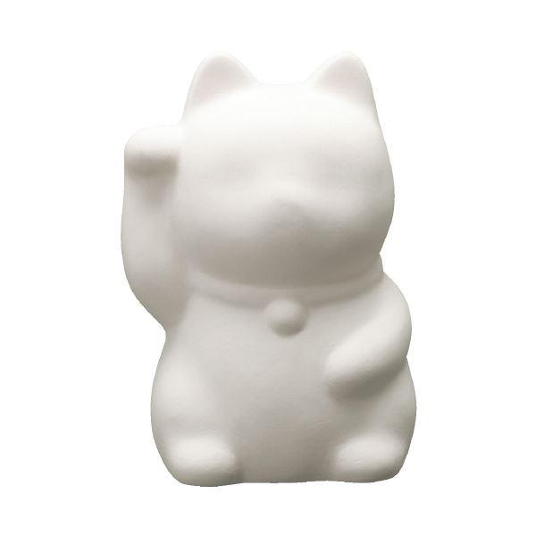 (まとめ)お絵かき貯金箱 招き猫(右手上げ)【×30セット】