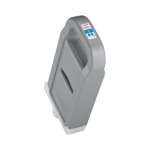 キヤノン インクタンク PFI-701C顔料シアン 700ml 0901B001 1個