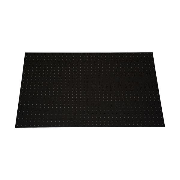 【訳あり・在庫処分】光 パンチングボード フレーム付(約600×900mm) 黒 PGBD609-1 1セット(5枚)