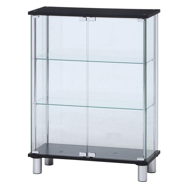 素晴らしい外見 ガラスディスプレイケース3段 ワイド ワイド ガラスディスプレイケース3段 ブラック 幅70×奥行28×高さ93.5cm ブラック【】, 車椅子介護用品のお店 TCマート:bc62e038 --- technosteel-eg.com