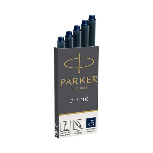 (まとめ)パーカー PARKER CTインク ブルーブラック 5本 19 50385【×50セット】