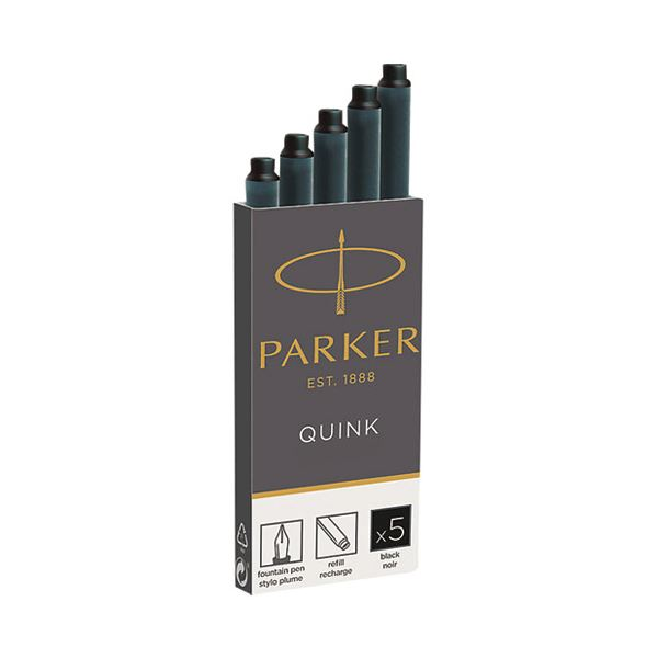 (まとめ)パーカー PARKER CTインク ブラック 5本 19 50382【×50セット】