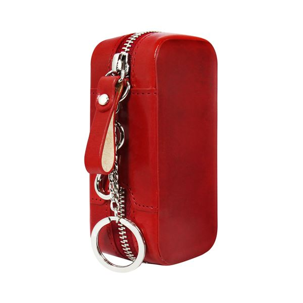 HANSMARE iQOS ITALIAN LEATHER CASE レッド