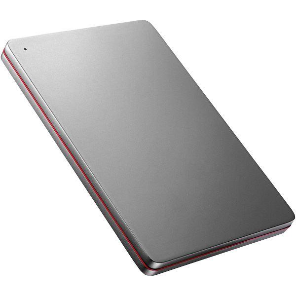 【送料無料】USB3.0/2.0対応ポータブルハードディスク「カクうす」 2TB Black×Red