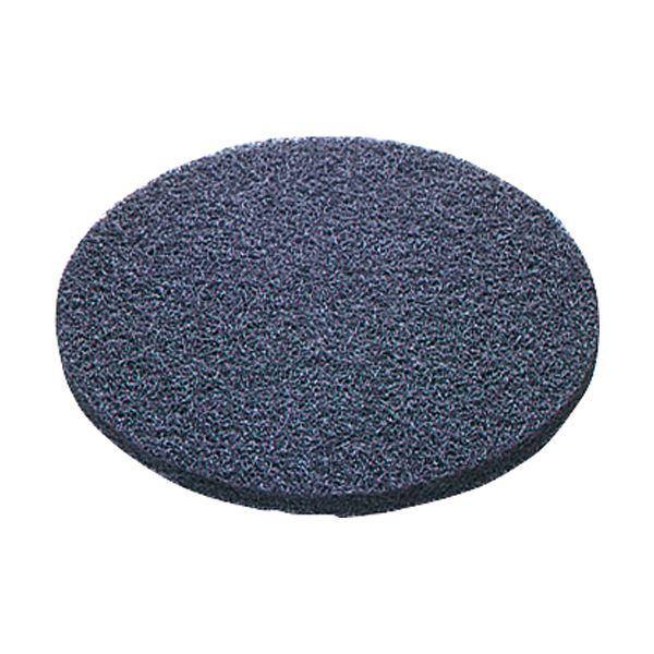 山崎産業 コンドル(ポリシャー用パッド)シックラインフロアパツド13黒(完全剥離用) E-16-13-B 1パック(5枚)