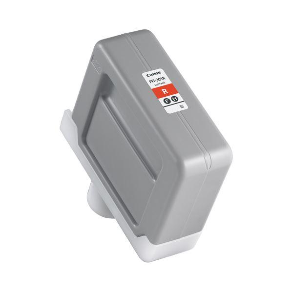 キヤノン インクタンク PFI-301顔料レッド 330ml 1492B001 1個