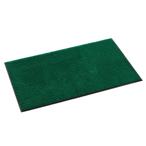 (まとめ) 雨天用マット/フロアマット 【グリーン 600×900mm】 除塵性 吸水性 抗菌加工 『ニューテラレイン』 【×2セット】
