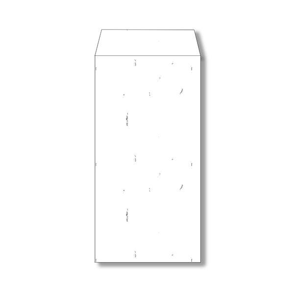(まとめ) 長門屋商店 和み紙封筒 長3105g/m2 しろ 徳用 ナフ-151 1パック(50枚) 【×5セット】