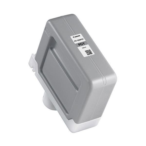 キヤノン インクタンクPFI-1300PGY フォトグレー 330ml 0818C001 1個