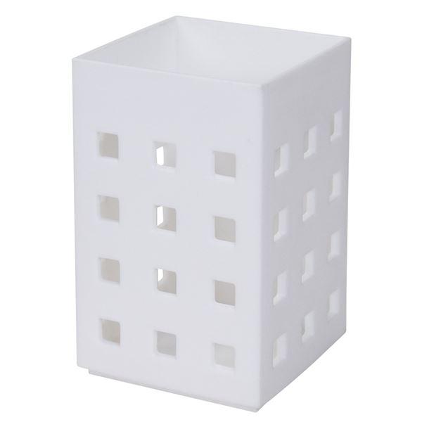 (まとめ) ストレージ ミニ/小物入れ 【マグネット式】 ホワイト ラップホルダー キッチン収納 『Mag-On』 【60個セット】