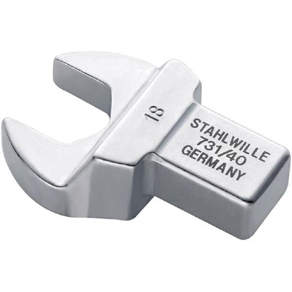 STAHLWILLE(スタビレー) 731A/40-1 トルクレンチ差替ヘッド(スパナ)(58614048)