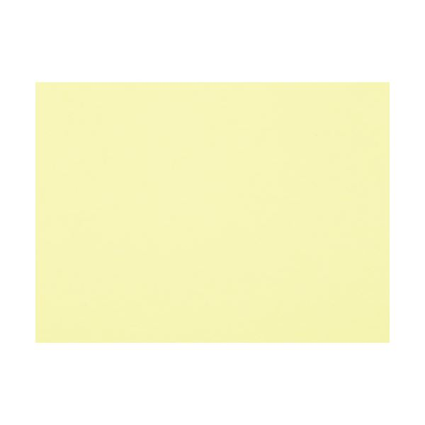 (まとめ)大王製紙 再生色画用紙8ツ切100枚バナナ【×30セット】