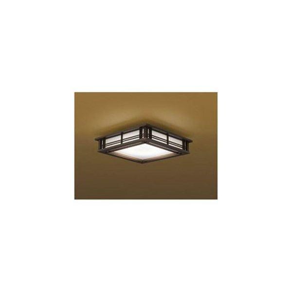 コイズミ リモコン付LED和風シーリングライト (~8畳) 調光・調色(昼光色~電球色) BH16772CK