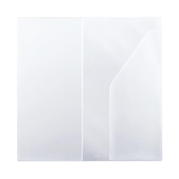 (まとめ)プラス カ.クリエ A4×1/3カバーNO-604CP(×50セット)