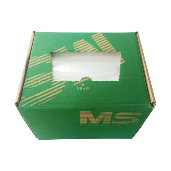 明光商会 シュレッダー用ゴミ袋MSパック Mサイズ 紐付 1箱(200枚)