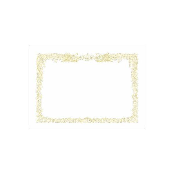 (まとめ)タカ印 賞状用紙 10-1180 A3縦書 百枚【×5セット】