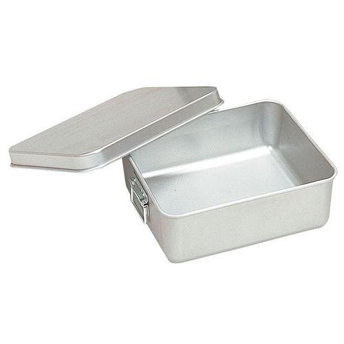 オオイ金属 アルマイト 保温・冷バットコンテナー (蓋付)001 ABTA6