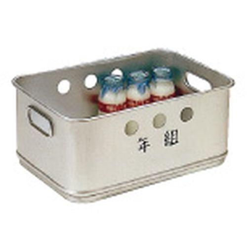 オオイ金属 アルマイト 牛乳箱 268 (24本入) AGY36