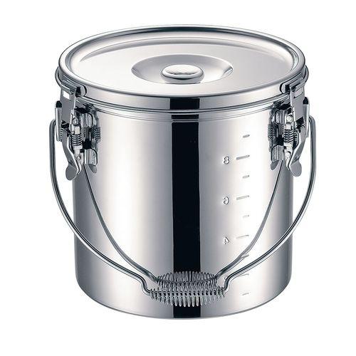 KOINU KO 19-0 電磁調理器対応 スタッキング給食缶 24cm ASYG604