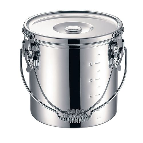 KOINU KO 19-0 電磁調理器対応 スタッキング給食缶 27cm ASYG605