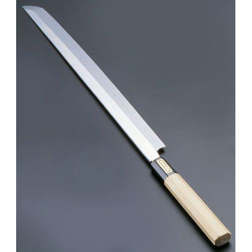 遠藤商事 SA佐文 本焼鏡面仕上 蛸引 木製サヤ 30cm ASB52030