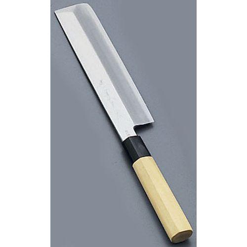 堺寛光 匠練銀三 薄刃(片刃) 24cm 37516 AZT4106