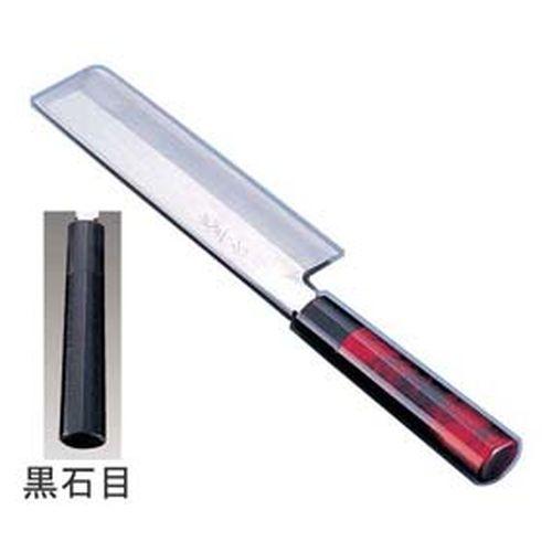 インテックカネキ 歌舞伎調和包丁 忠舟 薄刃 19.5cm 黒石目 ATD0305