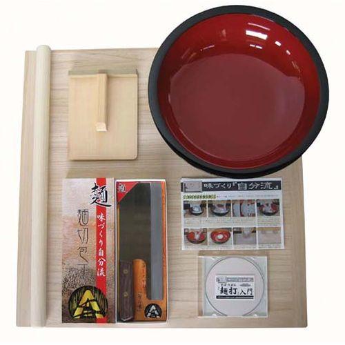 豊年企販 普及型麺打ちセット A-1200 (実演DVD付) AMV12【S1】
