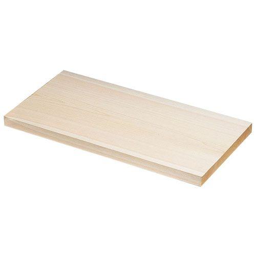遠藤商事 木曽桧まな板(一枚板) 600×330×H30mm AMN14003