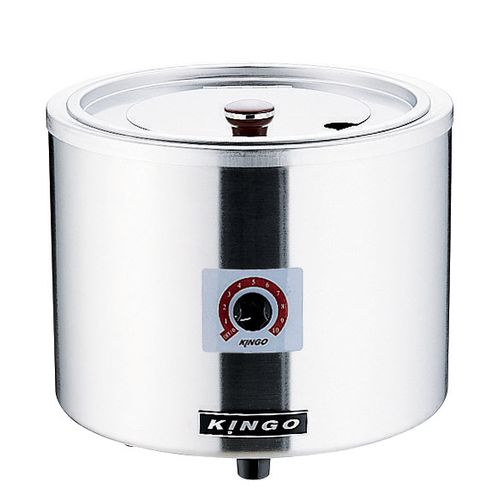 KINGO 湯煎式電気スープジャー D9001(中鍋なし) DSC2501