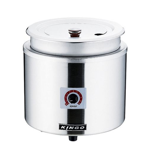 KINGO KINGO湯煎式電気スープジャー 11L D9001 DSC2601